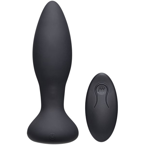 Vibe Experienced Vibrerende Buttplug - Zwart-2