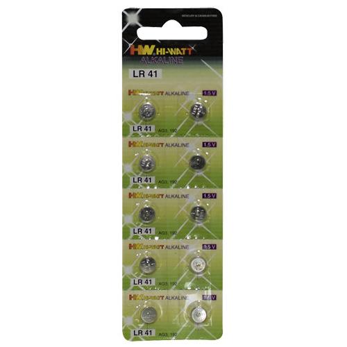 Knoop Batterijen - 10 stuks (LR41)-2