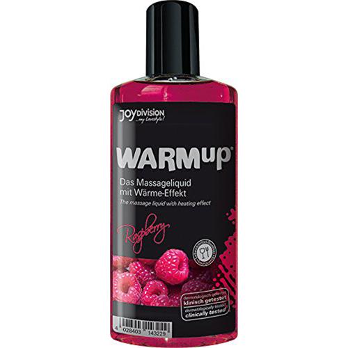 Warm-Up Massage Olie - Framboos-2