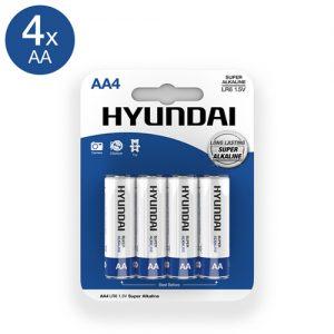 Super Alkaline AA-Batterijen - 4 Stuks-2