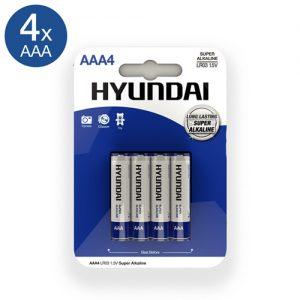 Super Alkaline AAA-Batterijen - 4 Stuks-2