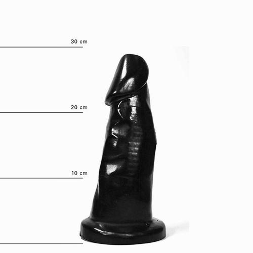All Black Dildo 29 cm-2