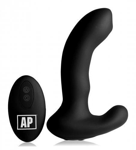 P-Massage Prostaat Vibrator Met Roterende Kraal-2