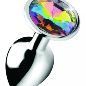Rainbow Gem Buttplug - Klein-2