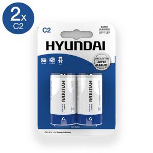 Super Alkaline C-Batterijen - 2 Stuks-2