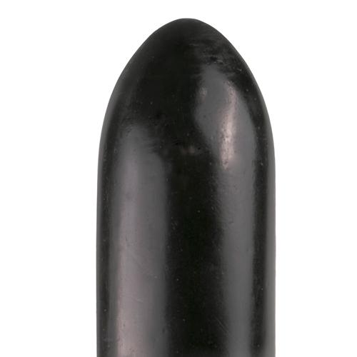 All Black Dildo 22.5 cm - Zwart-3