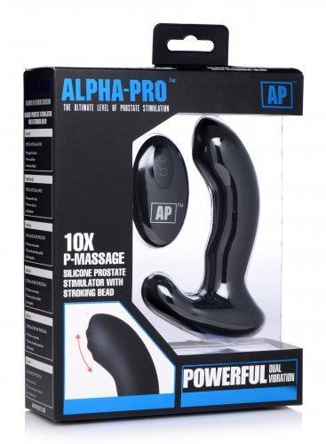 P-Massage Prostaat Vibrator Met Roterende Kraal-4