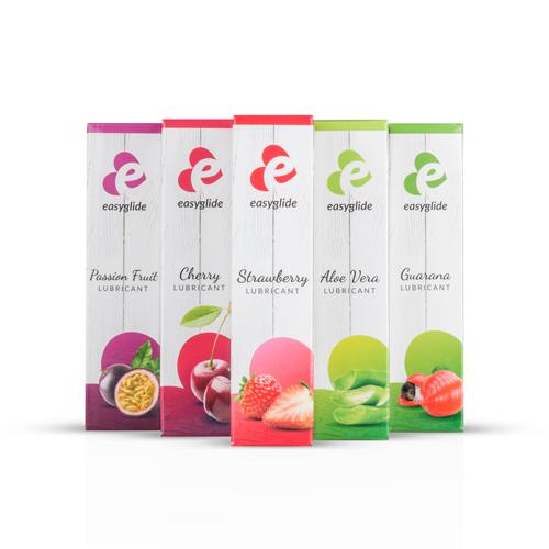 EasyGlide Strawberry Waterbasis Glijmiddel  - 30ml-4