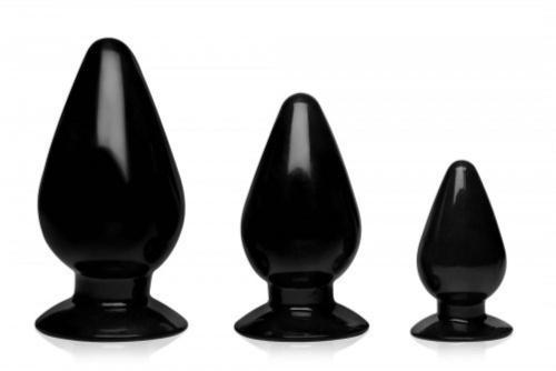 Triple Cones Anaalplug Set Van 3-2