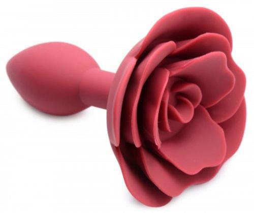 Booty Bloom Siliconen Anaalplug Met Roos-2